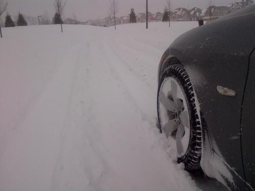 Nevasca em Toronto